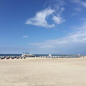 Strandaufgang an der Wohnung