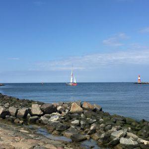 Mole mit Hafeneinfahrt