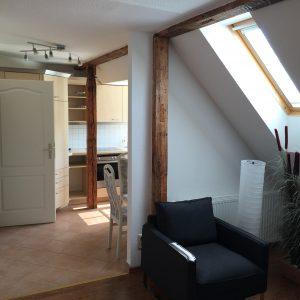 Wohnzimmer Übergang zur Küche